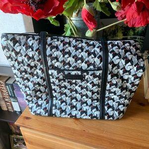 Vera Bradley Scottie dog shoulder bag